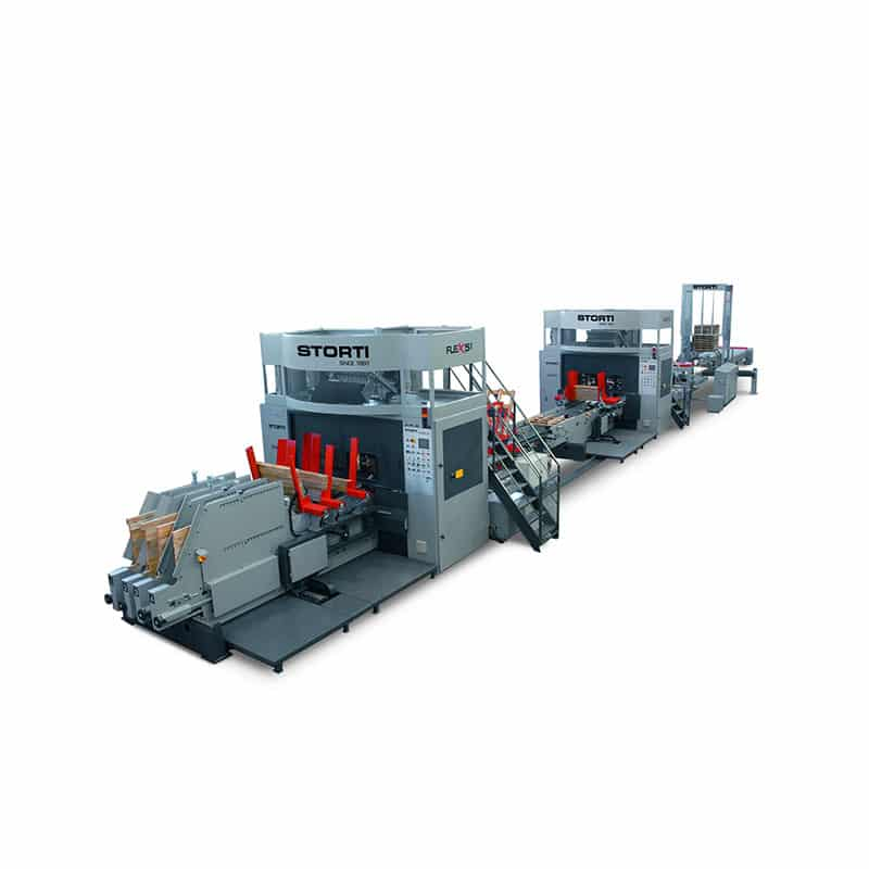 Linie productie paleti cu 2 si 4 cai - model Flex 51/52 M - Flex 61/62 M