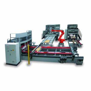 Linie productie paleti cu 2 si 4 cai - model Flex P 40 M / Flex 140 M