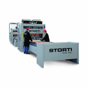 Linie productie paleti - model GSI 170/270 TA