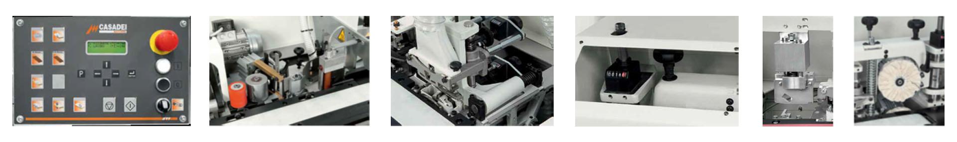 Masina de aplicat cant abs - Casadei