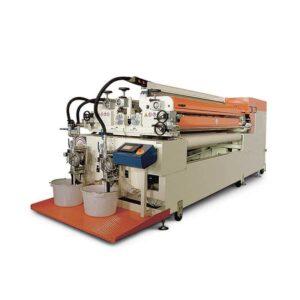 Masina de aplicat vopseluri si lacuri cu role