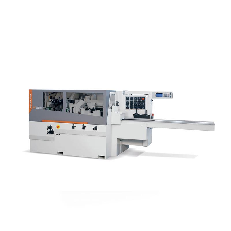 Masina de prelucrat pe 4 fete - MATRIX 230X