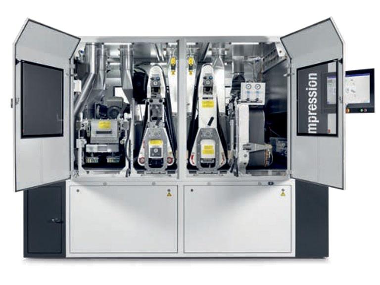 Masina de slefuit si calibrat - producator Heesemann