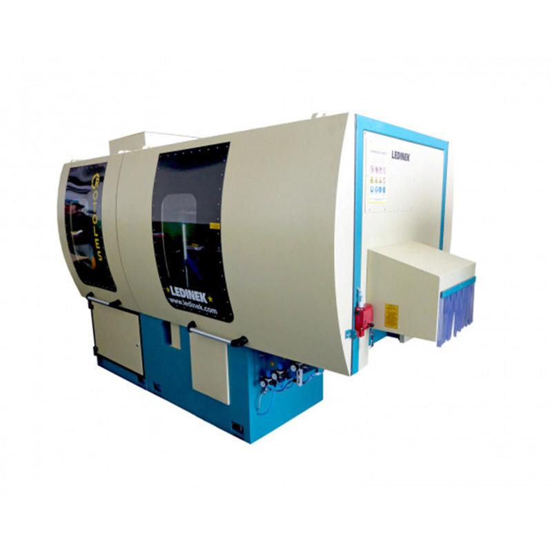 Masina industriala de calibrat si slefuit - model Rotoles 400 D S