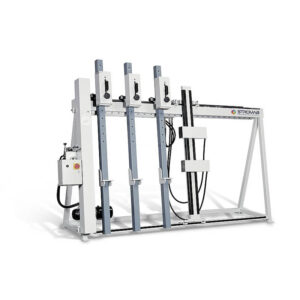 Presa verticala pentru montaj de usi sau ferestre