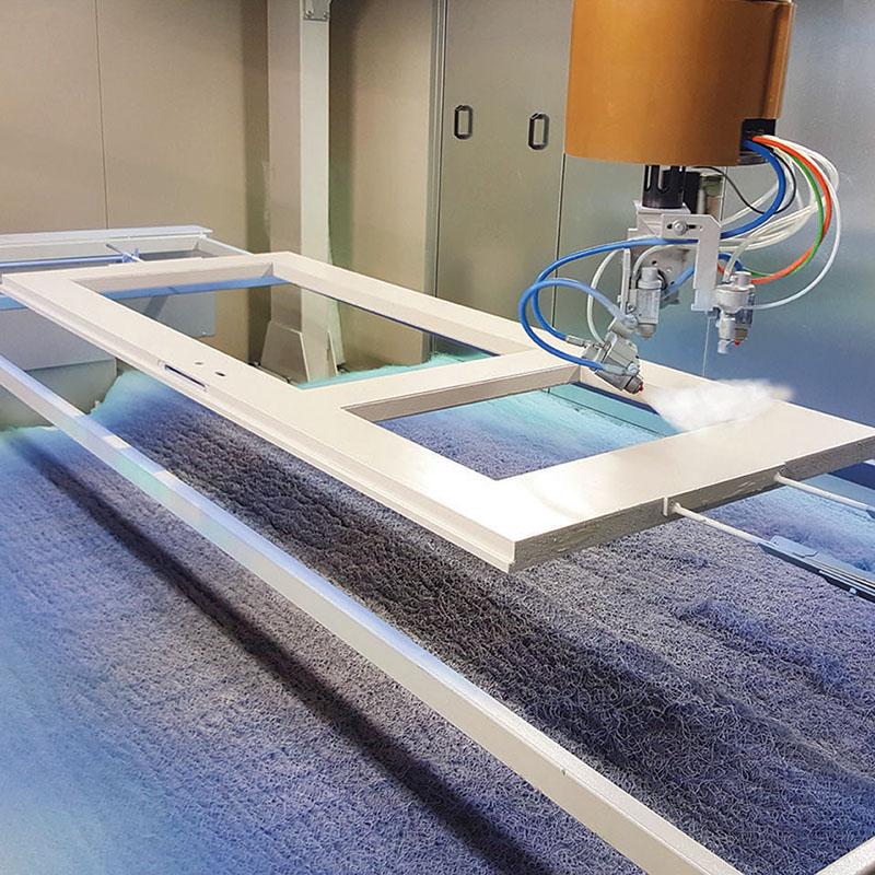 Robot de pulverizare pentru usi - model RBP