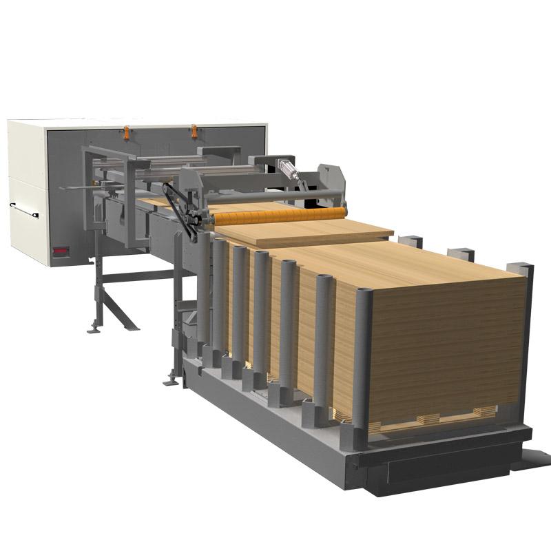 Sistem automat de stivuire a panourilor