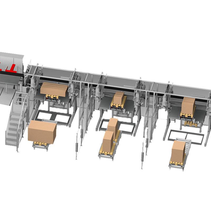 Sistem pentru prelucrarea pieselor in pachete