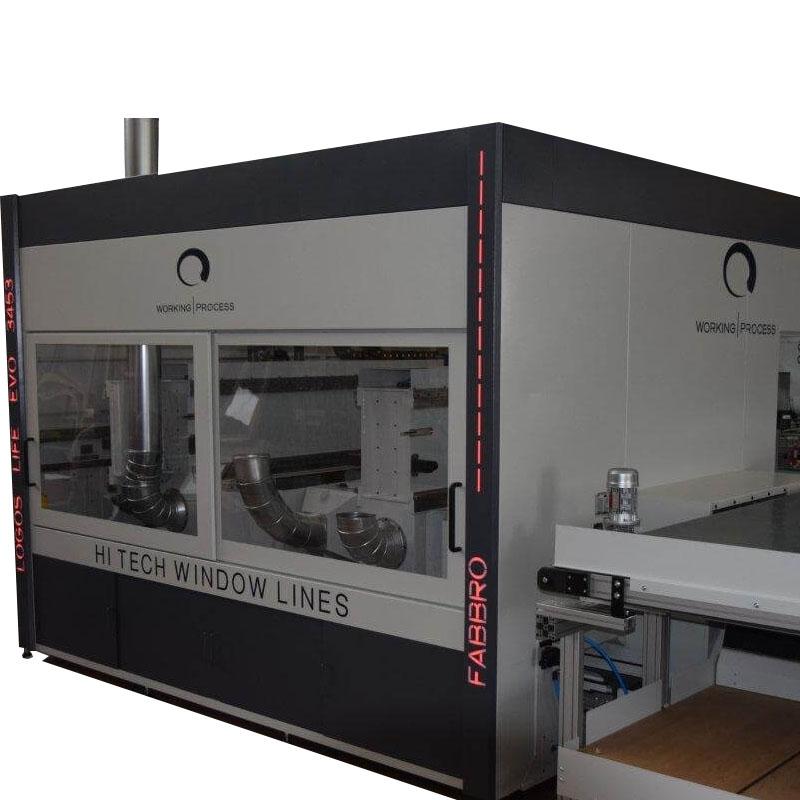 Centru robotic productie usi / ferestre lemn