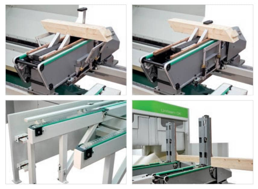 CNC pentru productie glulam -Biesse UNITEAM CK