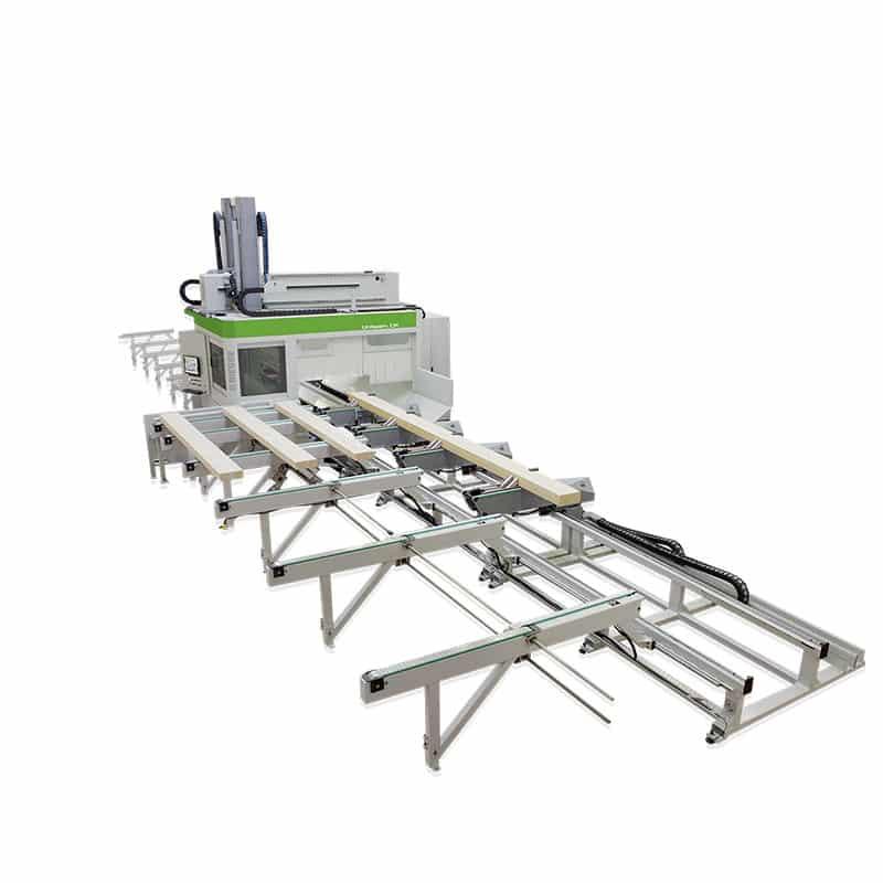 CNC productie glulam - Biesse UNITEAM CK