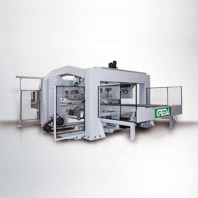 CNC lemn pentru producere bobine-Argo Multiprocess