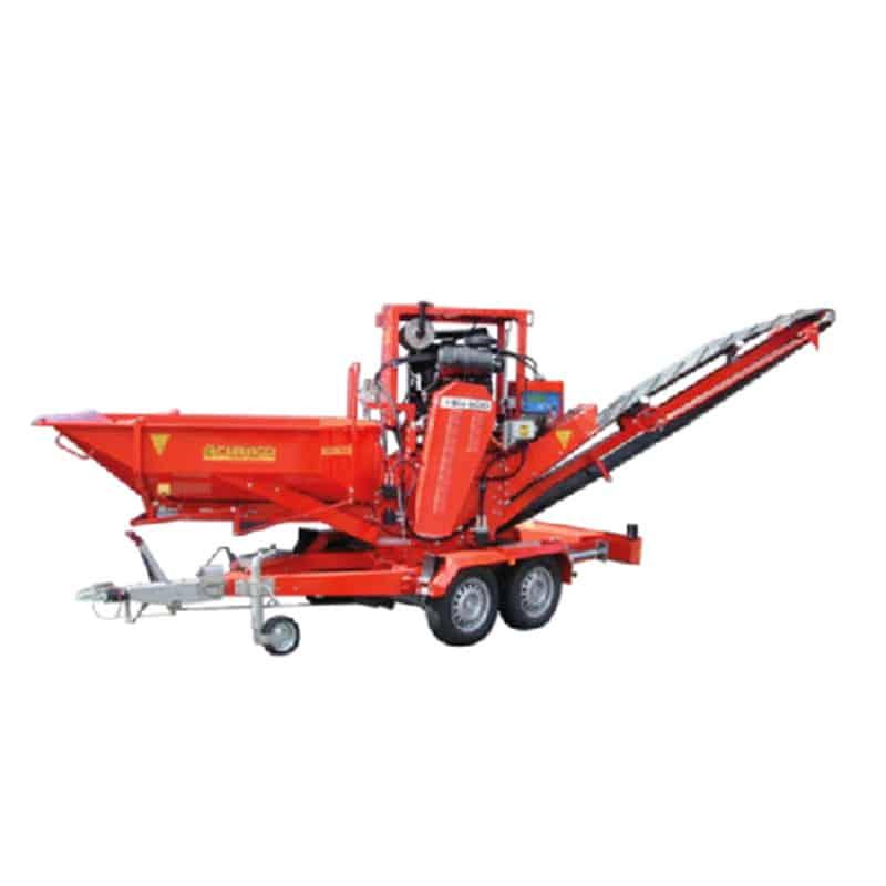 Tocator crengi (masina pentru tocat crengi) si alte resturi din lemn cu motor electric sau pe benzina - BIO 600