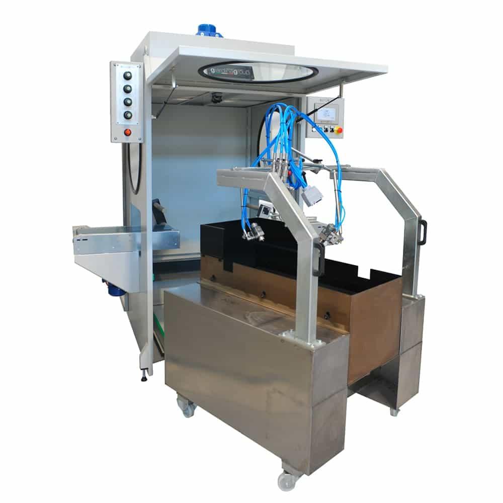 robot de vopsire prin pulverizare