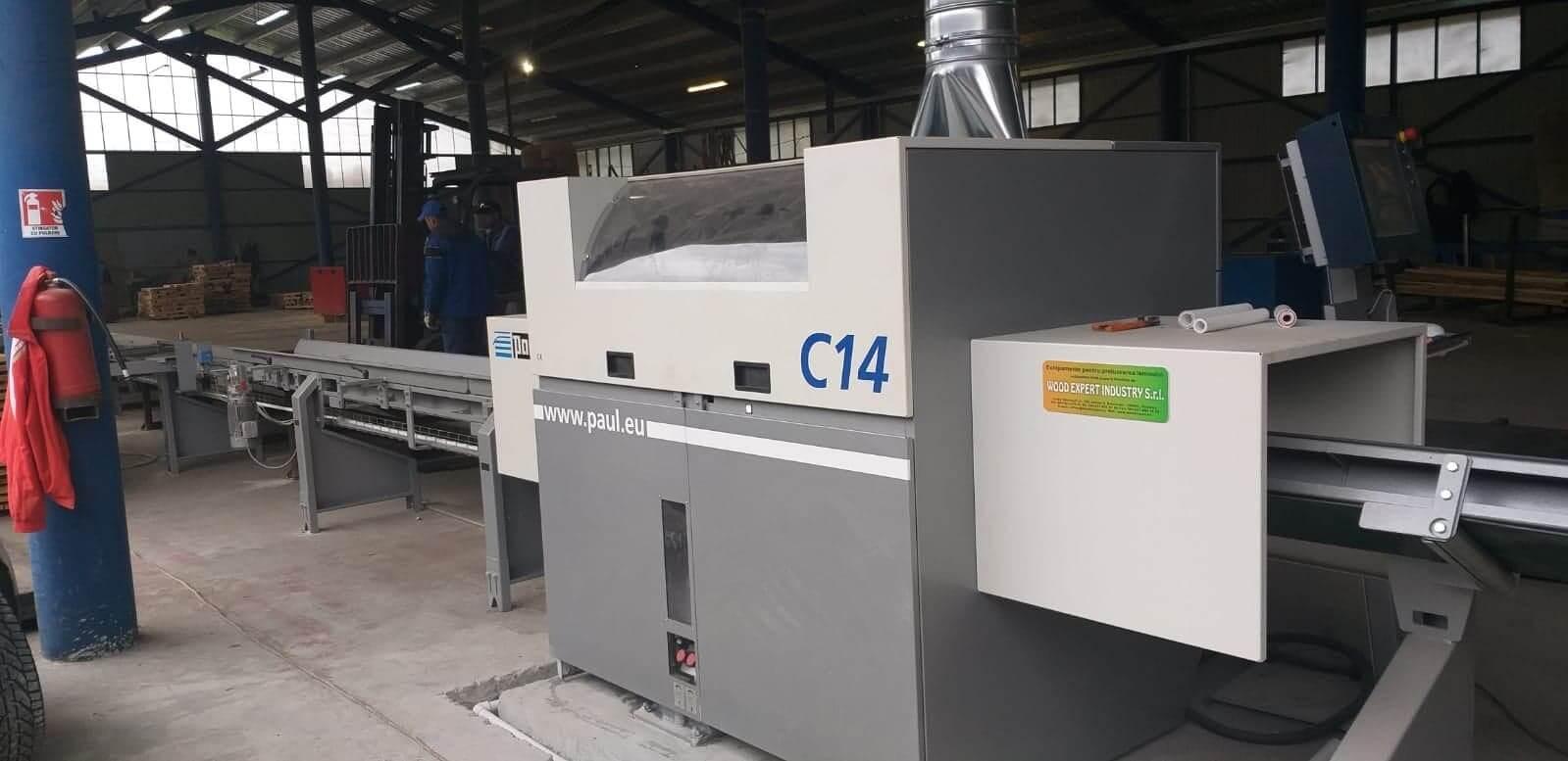 Optimizator cherestea C14 – producator Paul Maschinenfabrik