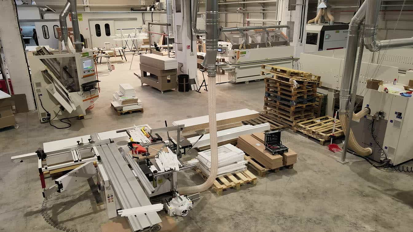 Fabrica de mobila in Bucuresti pusa in functiune de Wood Expert
