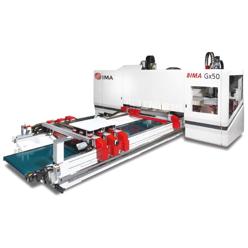 CNC in 3 - 5 axe cu cap robotic - Bima GX50