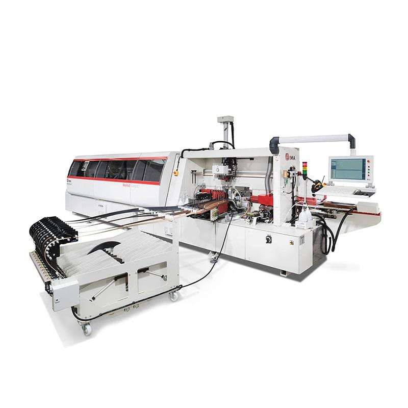 Masina industriala de aplicat cant - Novimat Compact R3