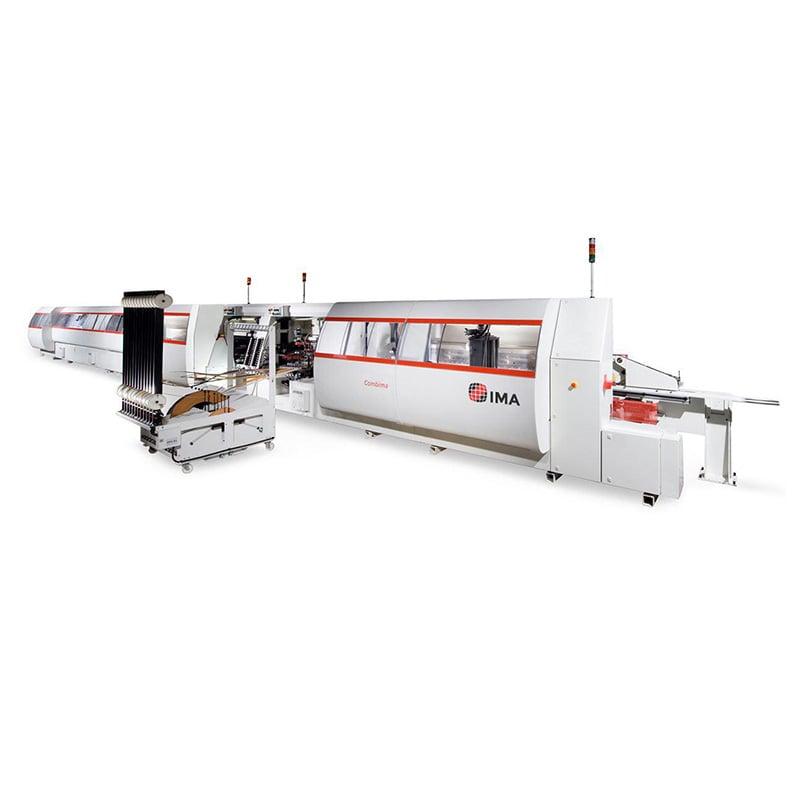 Masina de aplicat cant cu laser industriala - Combima