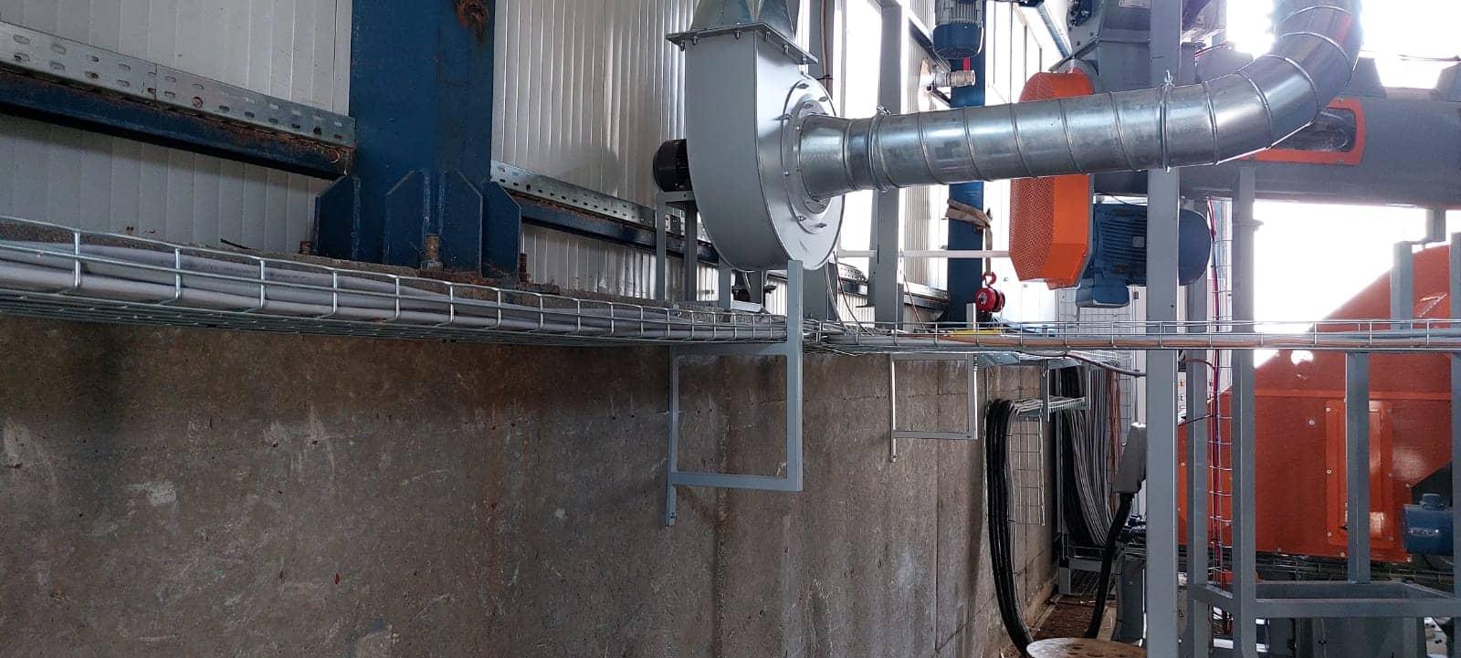 Linie peleti capacitate 2 tone pe ora judetul Neamt 8