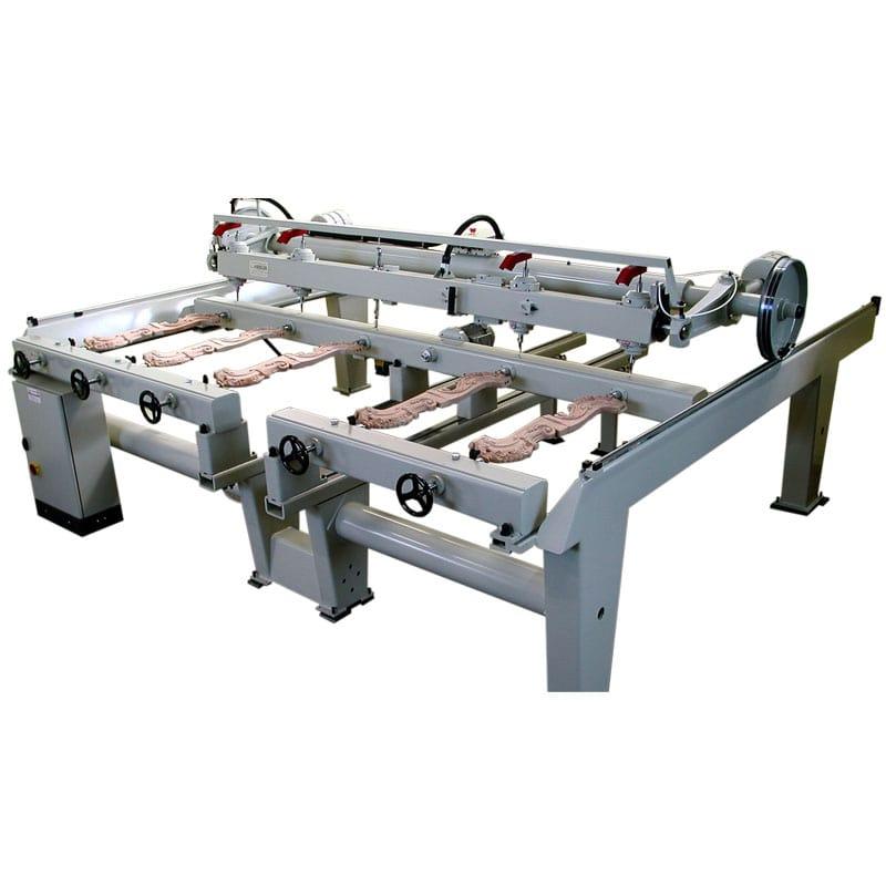 CNC sculptura lemn - Masina manuala de sculptat
