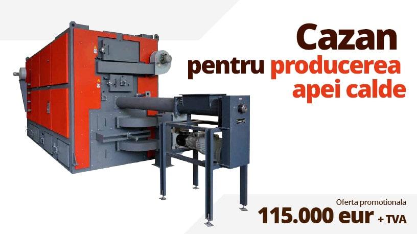 Cazan industrial producere apa fierbinte - Sceat cover