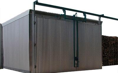 Camera termotratare lemn, aplicare tratament termic